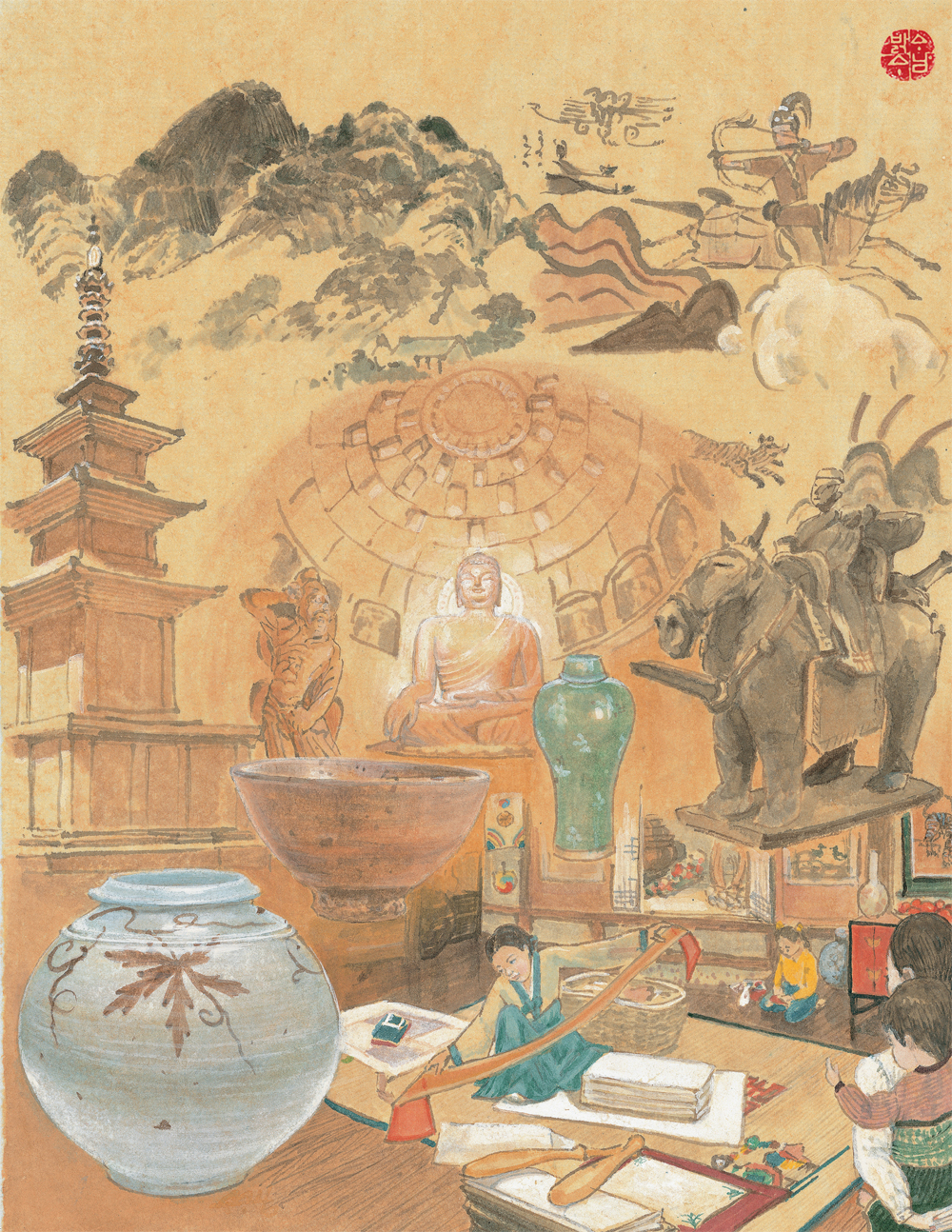 korean arts